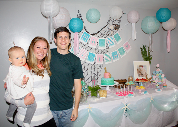 girly mermaid birthday party food snickerplum s party blog